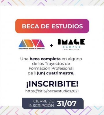 Image Campus – Becas de Estudio